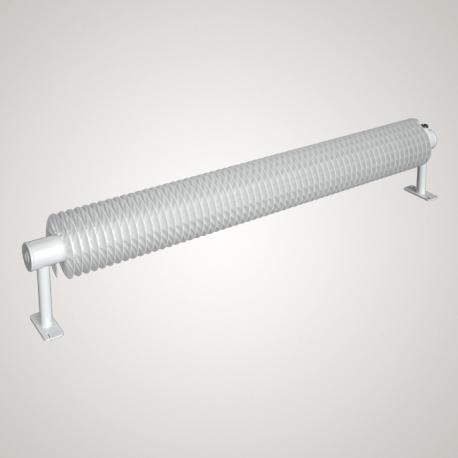 Ribberør RA1, 57x2,5x137 mm x 5000 mm, Hvid