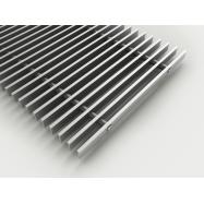 Rullerist  - Aluminium - 18 x 5 x 300 mm ( pr. lb. m. )