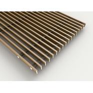 Lineær rist  - Bronce - 18 x 5 x 350 mm ( pr. lb. m. )