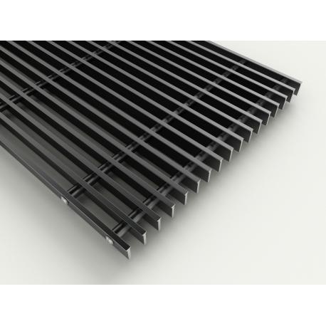 Lineær rist  - Sort - 175 mm
