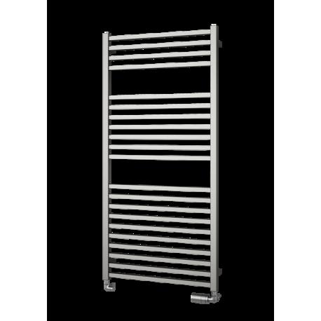 Håndkl. QUADRAT - 600 x 0805 mm, INOX - CC 560 mm