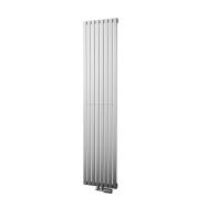 Håndkl. FORM - 390 x 1800 mm, INOX - CC 50 mm